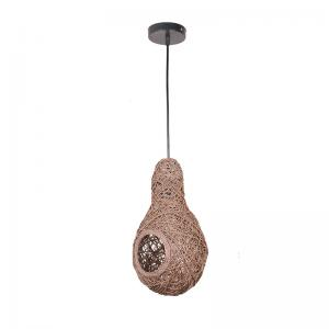 weavers-nest-brown-string-pendant-light - ceiling-and-hanging-lights