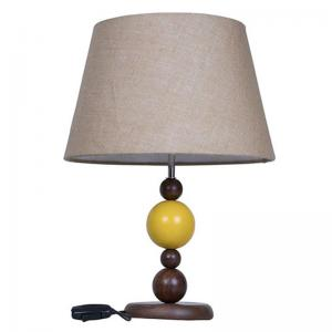 yellow-ball-wood-table-lamp-with-jute-shade - table-lamps