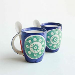 kukkibali-coffee-mug-with-spoon - dining-essentials