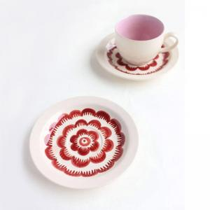 chrysanthemum-cup-and-saucer-bluepink - dining-essentials