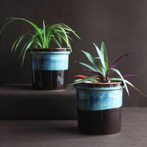 studio-line-jar-planter-black-mix - vases-and-planters