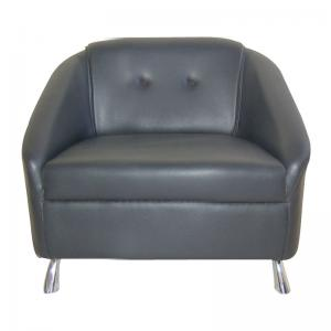 mexico-sofa-one-seater-black - sofas-and-recliners