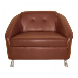 mexico-sofa-one-seater-brown - sofas-and-recliners
