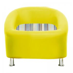 nelson-sofa-one-seater-yellow - sofas-and-recliners
