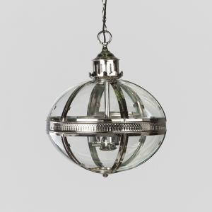 duomo-glass-oval-chandelier - chandeliers