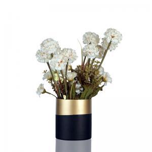 bi-banded-vase-short - vases-and-planters