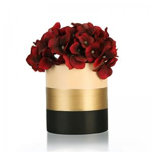 tri-banded-vase-short - vases-and-planters