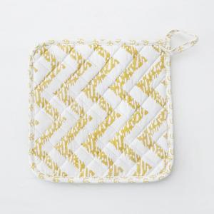 marnie-yellow-pot-holder - kitchen-linen