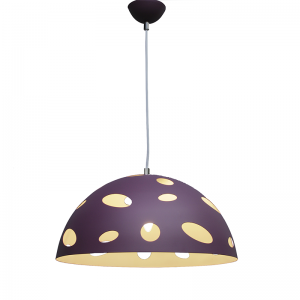 purple-and-white-aluminium-pendant - kids-lighting