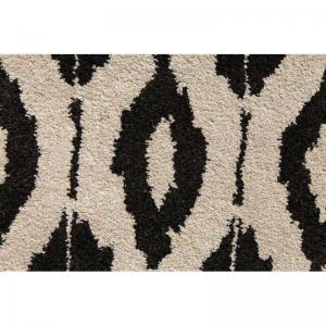factoid-wool-and-viscose-rugs-23x39-deep-charcoal-and-ivory - rugs-and-carpets