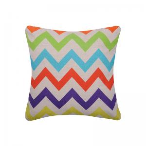 geometric-printed-chevron-cushion-covers - kids-decor