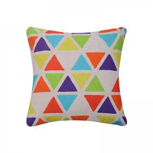 geometric-printed-pyramids-cushion-covers - kids-decor