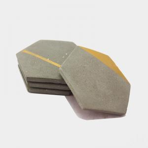 hex-concrete-coaster-a - desk-decor