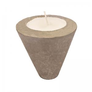 concrete-wax-cone - candles-and-fragrances