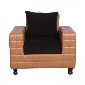 jefferson-1-seater-sofa-in-leatherite-and-fabric - sofas-and-recliners