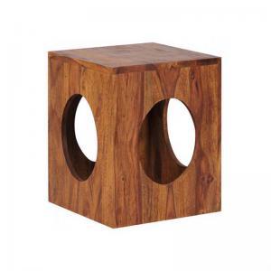 nikunj-round-hole-sidetable - tables