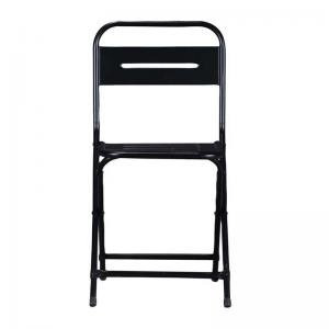iron-folding-chair-black - chairs