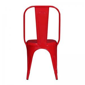 iron-chair-red-finish - chairs
