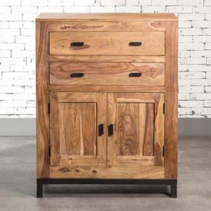goa-sideboard-with-2-doors-and-2-drawers - sideboards-and-crockery-units