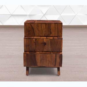 wooden-3-drawer-bedside - chest-of-drawers