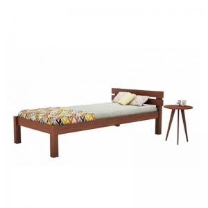 pure-sheesham-wood-single-sized-bed-brown - beds