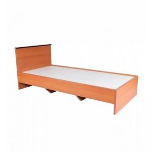 simplistic-particle-board-single-sized-bed-brown-by-cactus - beds