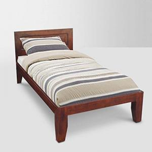 neo-ension-single-size-bed-brown - beds