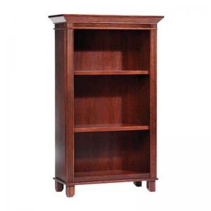 arlington-60-bookcase-in-maple-brown - book-cases