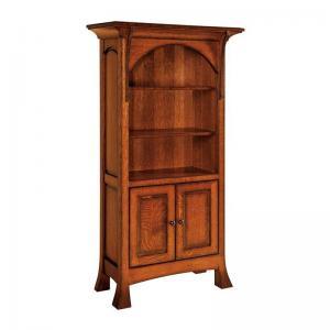 breckenridge-60-bookcase-in-maple-brown - book-cases