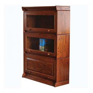 lane-barrister-3-piece-bookcase-in-cherry - book-cases
