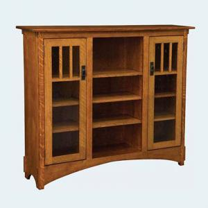 mission-display-bookcase - book-cases