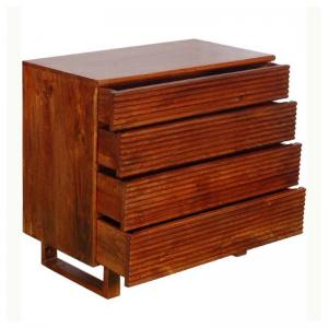 harley-chest-of-four-drawers-in-honey-oak-finish - chest-of-drawers