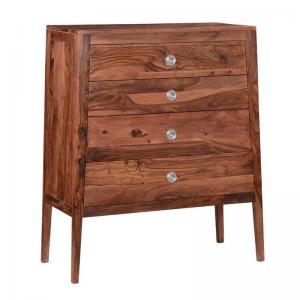 v-chest-of-drawers-in-warm-walnut-finish - chest-of-drawers