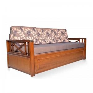 solid-wood-sofa-bed-brown-without-mattress - sofa-cum-beds-and-futons