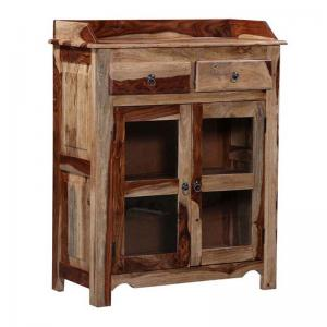 side-board-in-natural-sheesham-finish - sideboards-and-crockery-units