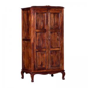 honey-oak-finish-2d-wardrobe - wardrobes