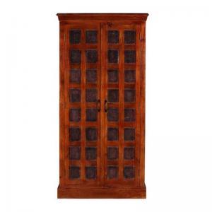 downe-wardrobe-in-honey-oak-finish - wardrobes