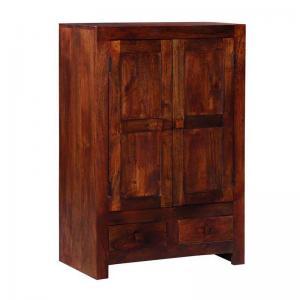 chelsea-wardrobe-in-honey-oak-finish - wardrobes