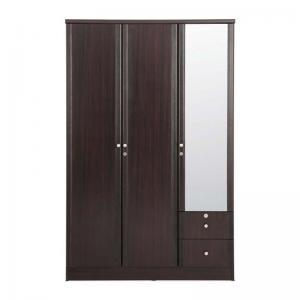 royal-berlin-particle-board-three-door-wardrobe - wardrobes
