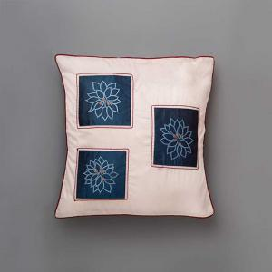 acadia-cushion-cover-embroidered-blue - cushions-and-pillows