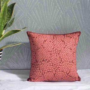 gondi-red-cotton-printed-cushion-cover - cushions-and-pillows