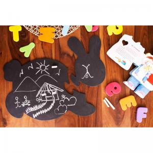 honey-bunny-chalkboard-puzzle-mat - kids-decor