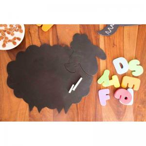 mrs-sheep-chalkboard-puzzle-mat - kids-decor