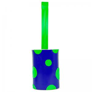 doodhwaala-planter-royal-blue-and-green - vases-and-planters