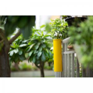 hang-on-balcony-planter-sunshine-yellow - vases-and-planters