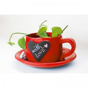 write-on-me-planter-heart-red - vases-and-planters