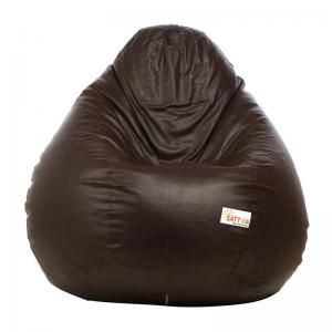 sattva-classic-xl-bean-bag-cover-brown - bean-bags