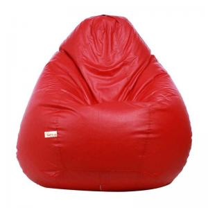 sattva-classic-xl-bean-bag-cover-red - bean-bags