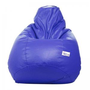 sattva-classic-xl-bean-bag-cover-royal-blue - bean-bags