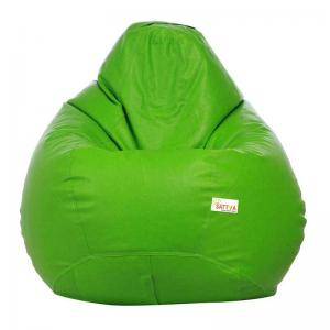sattva-classic-xl-bean-bag-cover-neon-green - bean-bags